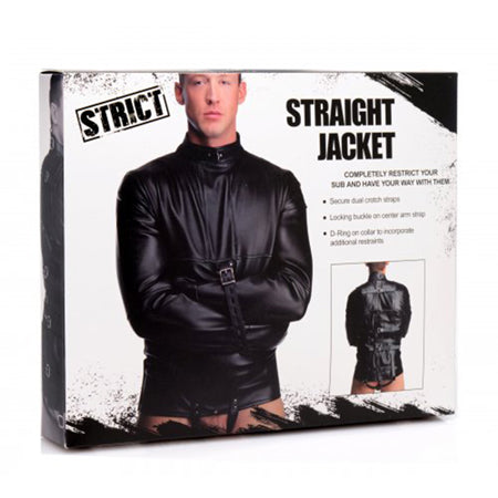 Strict ST Straight Jacket Small, Medium, Large, and Extra Large  (Black)