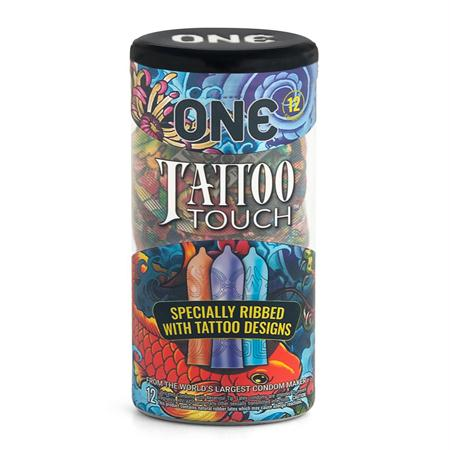 ONE Tattoo Touch Condom 12 Pack