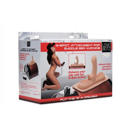 LoveBotz G-Spot Attachment for Saddle Sex Machine  (Flesh)