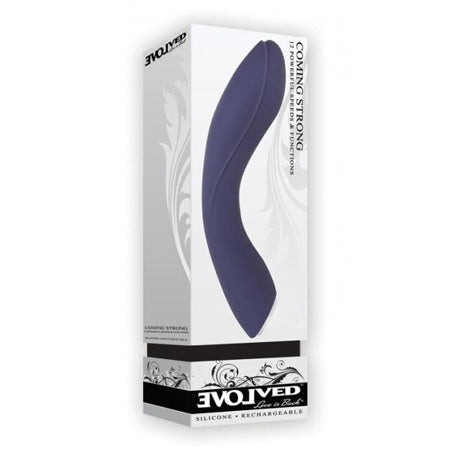 Evolved Coming Strong Vibrator  (Purple)