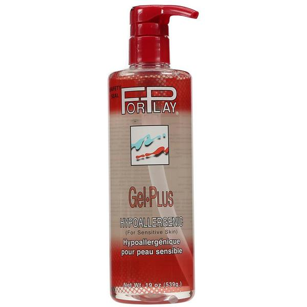 ForPlay Gel Plus Water Based Lubricant 2.5 Ounces, 5.2 Ounces, and 19 Ounces