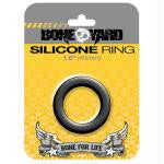 Boneyard Silicone Ring 30mm, 35mm, 40mm, 45mm, and 50mm  (Black)