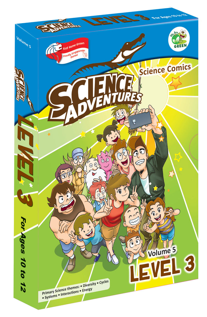Science Adventure Vol 5 box set