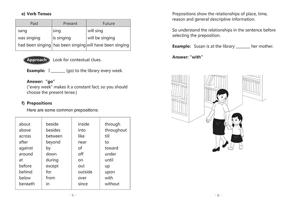 English Mock Exam Papers Primary 1