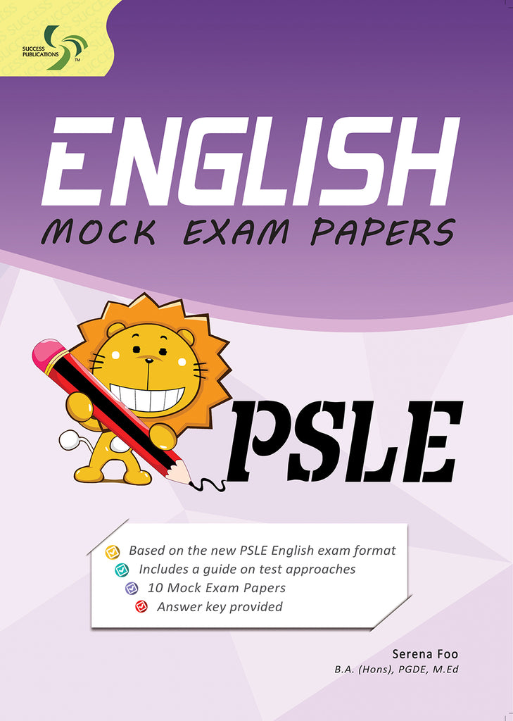 English Mock Exam Papers Primary 6