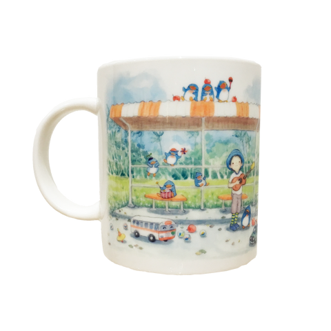 阿果马克杯 Songs & Rhythm at the Bus Stop Mug