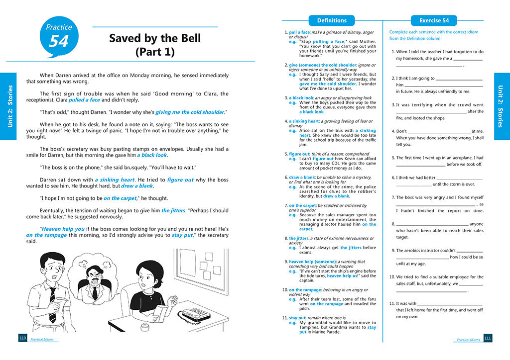Practical Idioms Upper Primary to Lower Secondary
