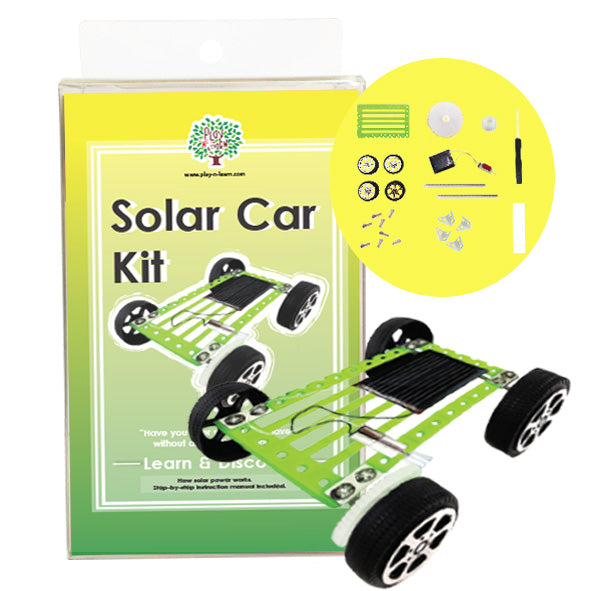 Play N Learn STEM Solar Car Kit