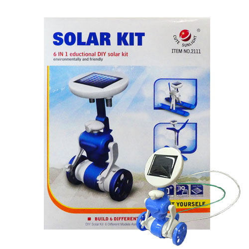 Play N Learn STEM 6 in 1 Educational Solar Kit