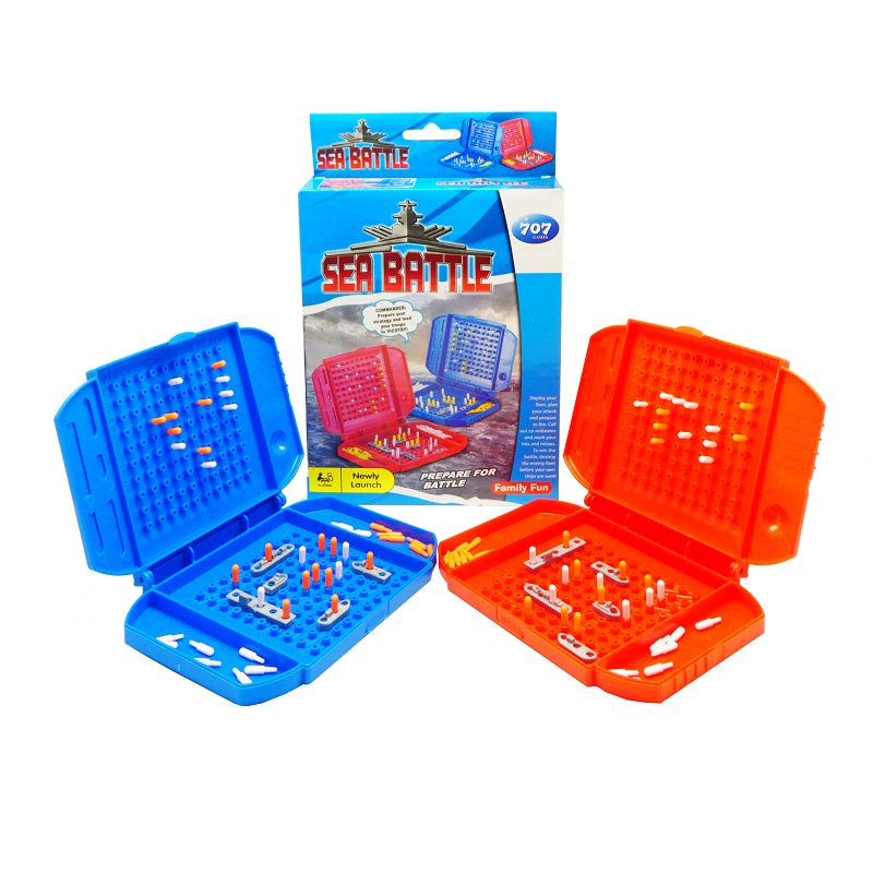 Play N Learn Strategy Family Fun Sea Battle Board Game