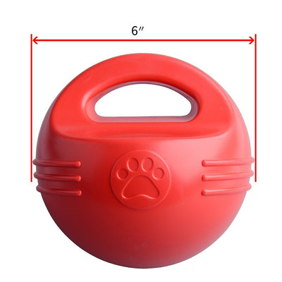 Pawsroad Floating Pool Ball Toys for Dogs with Handle Size