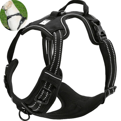Pawsroad Reflective No Pull Dog Harness 2019