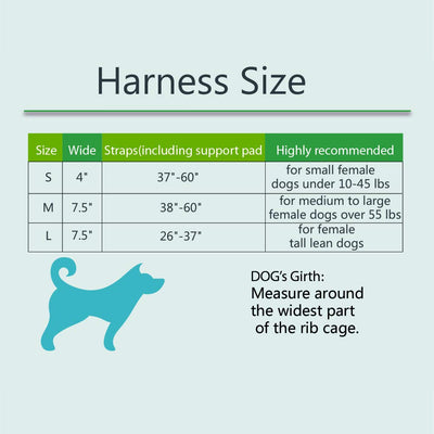 Pawsroad Veterinarian Approved Dog Lift Harness