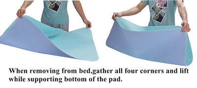 "KOOLTAIL Washable Pee Pads for Dogs 2 Pack 36"" x 41"" Puppy Training Pad - Hoverboardmall"