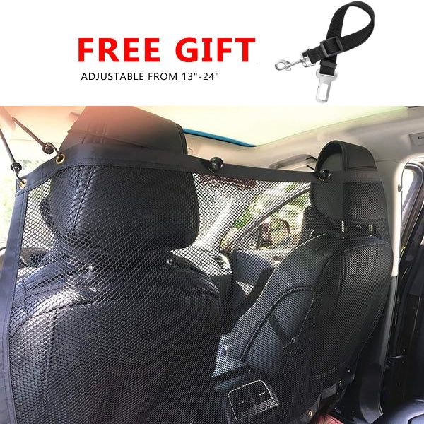 Pawsroad Vehicle Pet Barrier Backseat Mesh