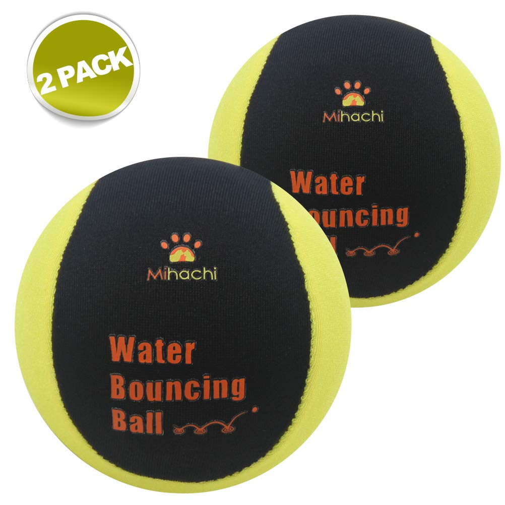 Pawsroad Water Toys for Dogs,Bouncing Chew Balls Floating Toy