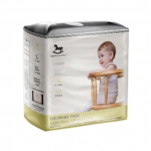 APPLECRUMBY PREMIUM BABY PULL-UP DIAPERS