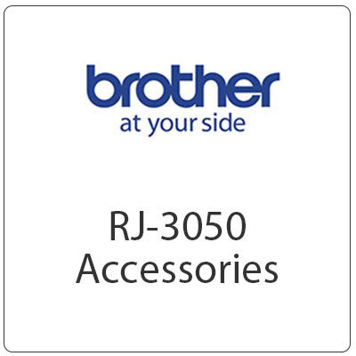 Brother RJ-3050 Accessories