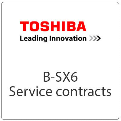 Toshiba TEC B-SX6 Service Contracts