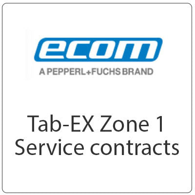 ecom Tab-EX 01 Zone 1 ATEX Service Contracts