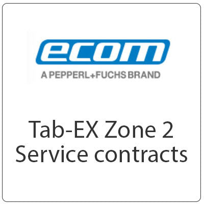 ecom Tab-EX 01 Zone 2 ATEX Service Contracts