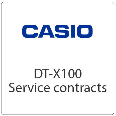 Casio DT-X100 Service Contract