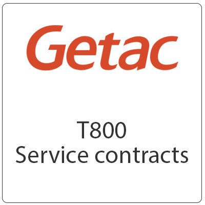 Getac T800 Service Contracts