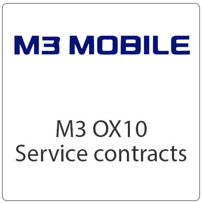 M3 OX10 Service Contracts