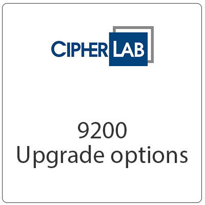Cipherlab 9200 Series Upgrade Options