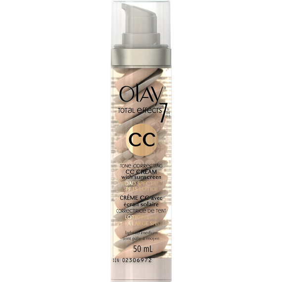 Olay CC Cream Total Effects Tone Correcting Moisturizer with Sunscreen