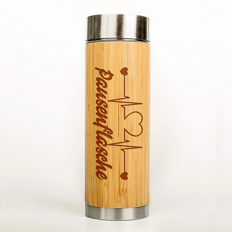 "Thermoskanne ""Heartbeat Pausenflasche"""