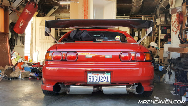 MR2Heaven Stage 2 Carbon Fiber Wing Installation Guide