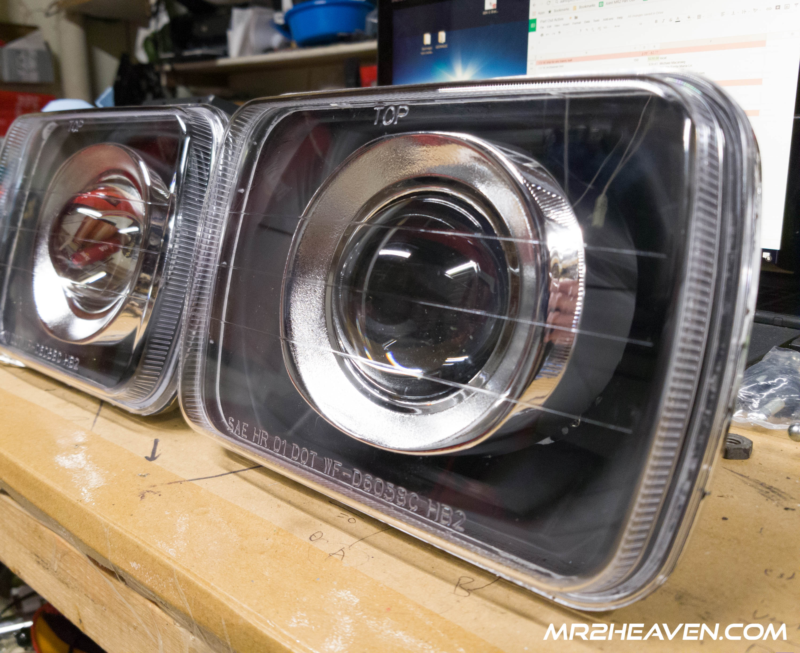 MR2Heaven Projector Headlamp, Wiring harness, Ballast and Bulb Installation Guide