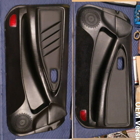 "MR2Heaven Door Panel Leather ""Door Card"" Inserts"