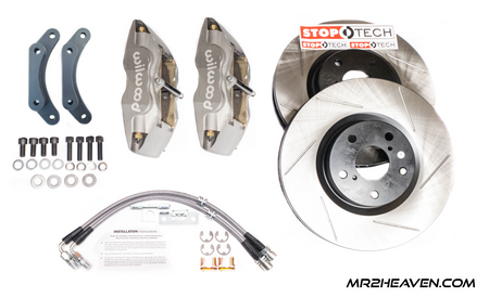 "MR2Heaven Heavy Duty 13"" Wilwood FRONT Big Brake FULL Kit - SW20"