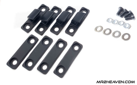 MR2Heaven - CNCed Removable T-Top SunShade Replacement Mounting Clip Kit