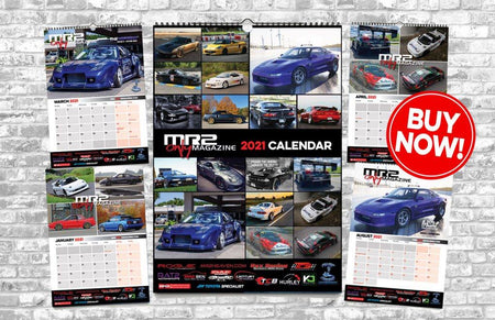 MR2 ONLY Limited Edition 2021 Calendar