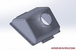 "MR2Heaven Carbon Fiber 4"" Intake Box Kit (Coming Soon)"