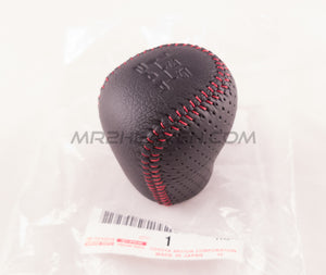 Toyota OEM Red Leather MR2 Shift Knob - MR2 Heaven