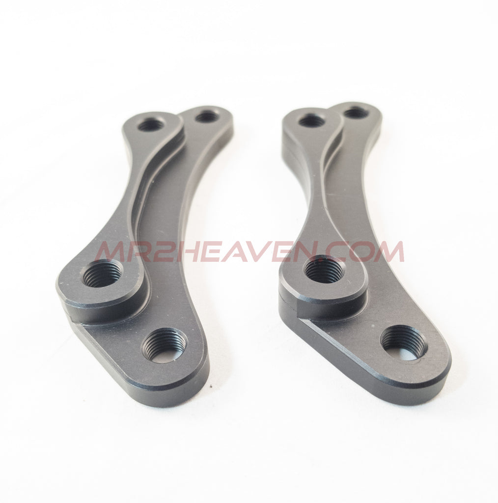 "SW20 MR2 Rear Big Brake Kit Brackets (For Wilwood Forged Superlite Caliper & 13"" Larger Brake Rotor) - MR2 Heaven"