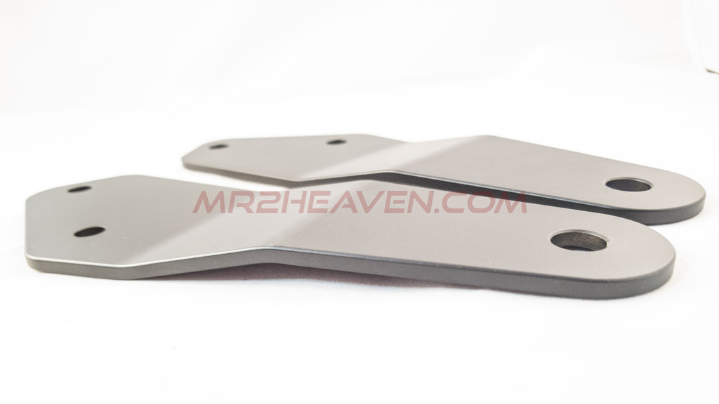 7075-T6 Aluminum Lightweight Sway Bar Reinforcement Plates - MR2 Heaven