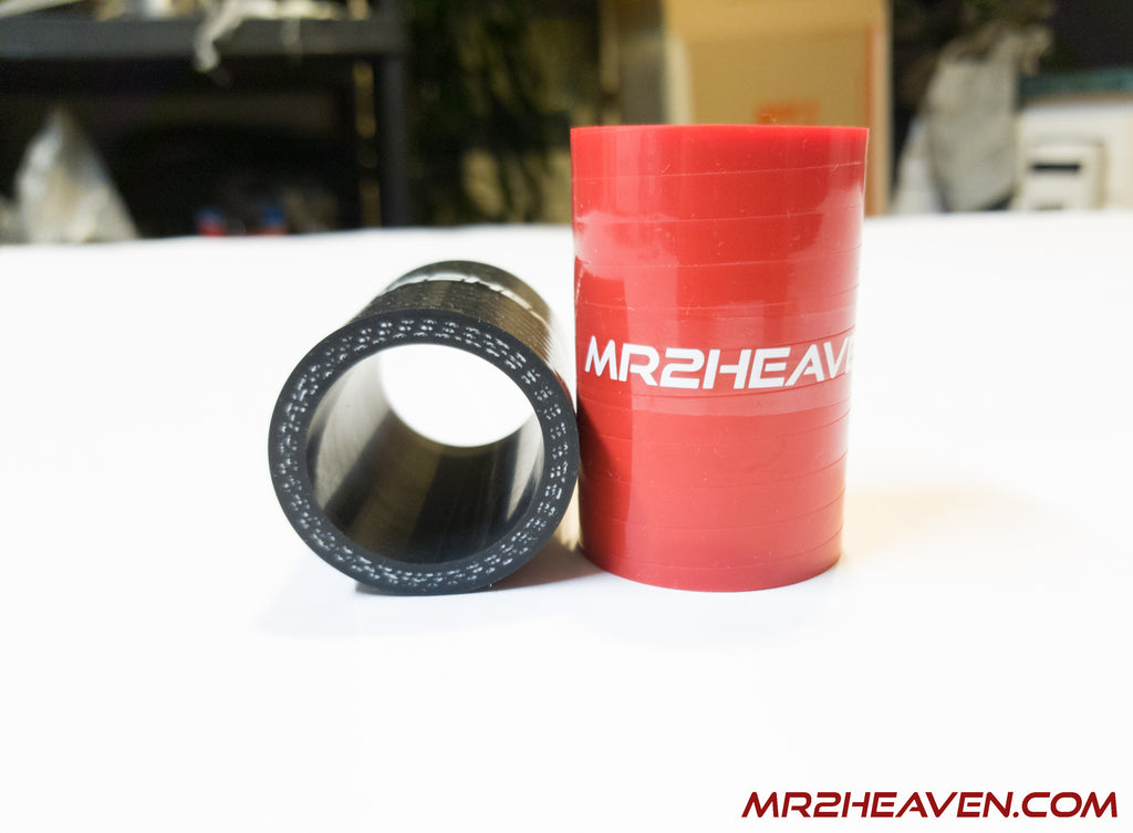 "MR2Heaven Silicone OEM Blow Off Valve Re-circulation Hose, 1"" To 1"", 2.25"" Long, GEN2/GEN3 3SGTE"