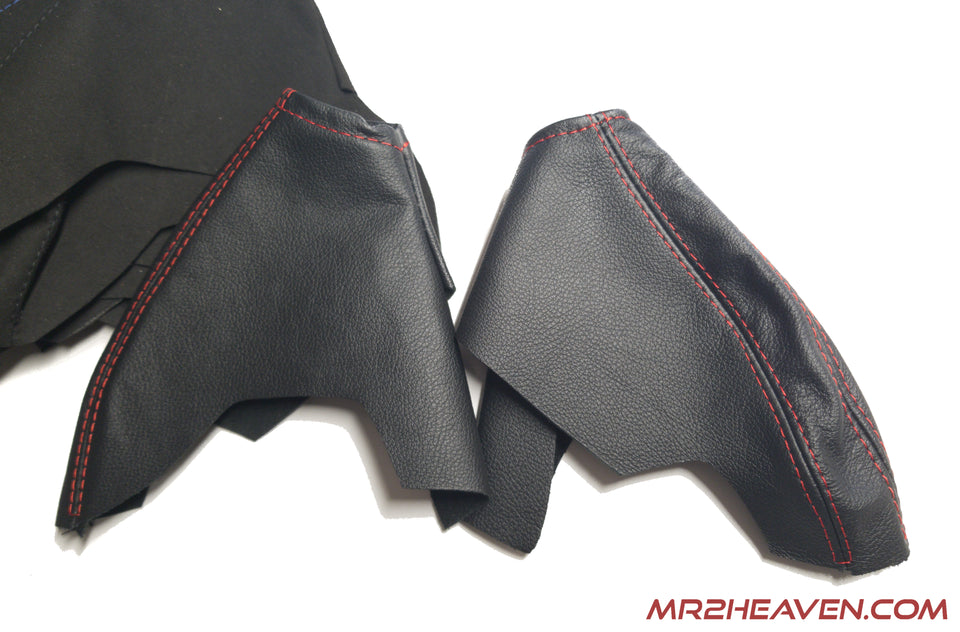 Leather/Alcantara/Carbon E-Brake Boot
