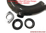 Carbon Fiber Intercooler Pipes - For Side Mount Intercooler SW20 3SGTE MR2