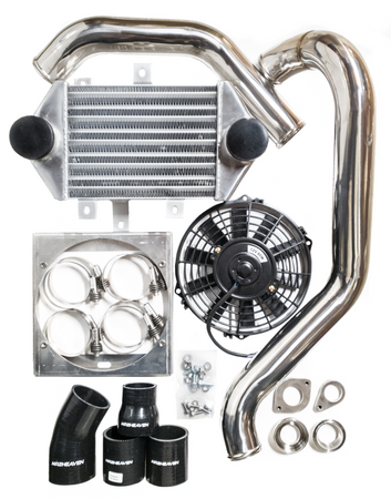 Stainless Steel Pipes With Side Mounted Intercooler Kit - SW20 3SGTE MR2