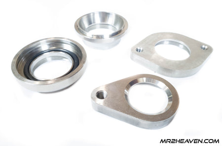 Stainless Steel TiAL/HKS V-Band Blow Off Valve Flange for Intercooler Pipes