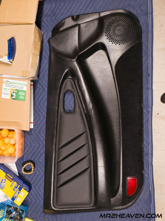 Door Panel Leather Inserts - MR2 Heaven
