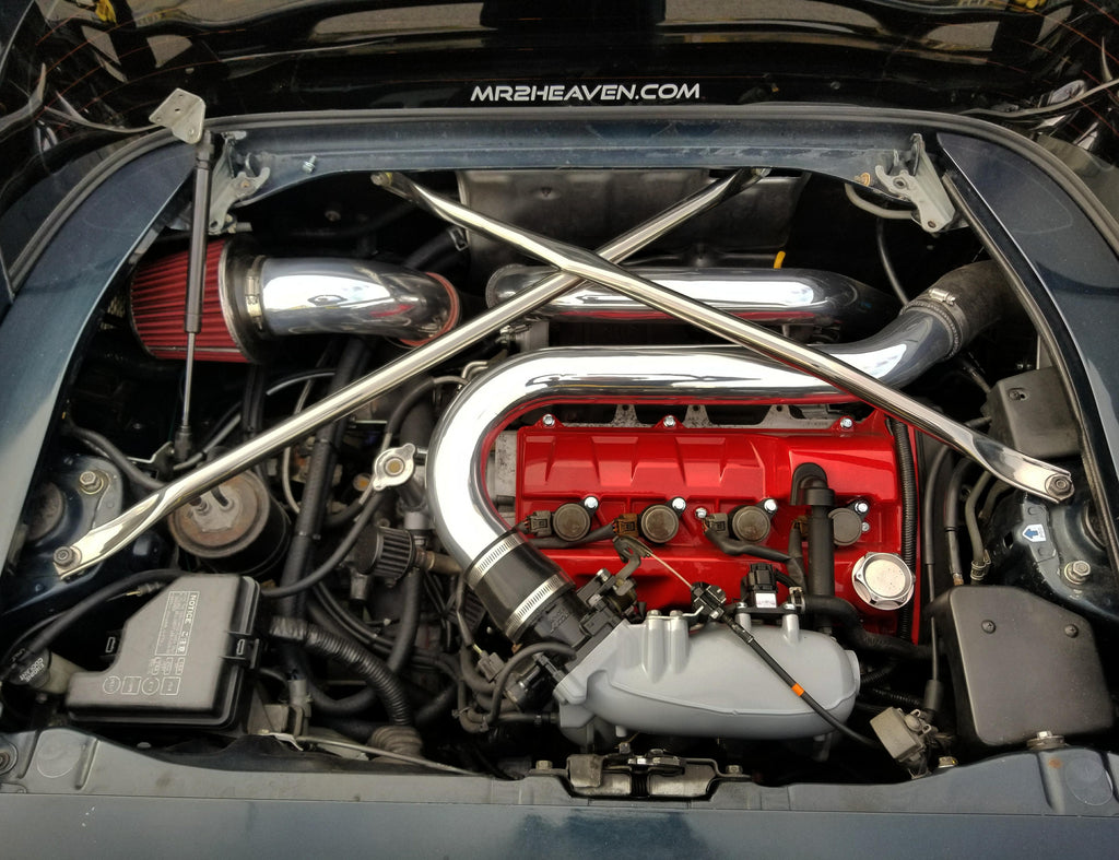 "MR2Heaven GEN 2/3/4/5 3SGTE ""ONE PIECE"" ALUMINUM INTERCOOLER PIPES - MR2 Heaven"