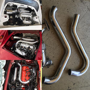 "MR2Heaven GEN 2/3/4/5 3SGTE ""ONE PIECE"" ALUMINUM INTERCOOLER PIPES"