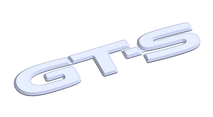GT-S Reproduction Emblem (Coming Soon)